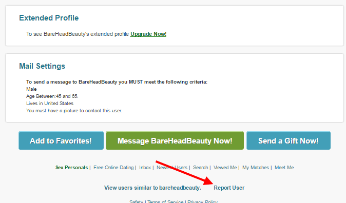How To Report A Fake Profile On PlentyOfFish (POF)