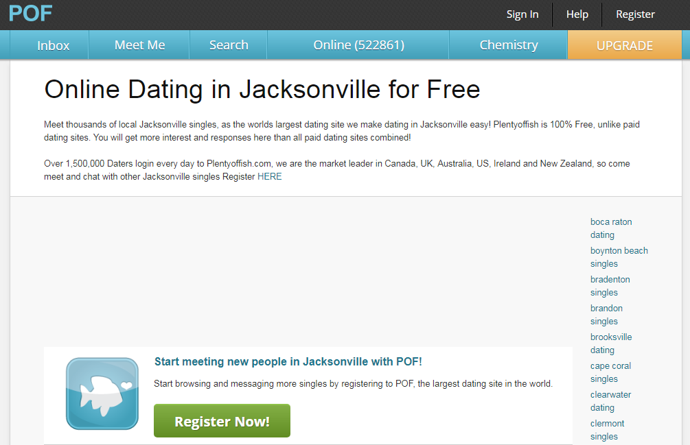 Free jacksonville dating sites