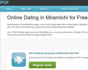 PlentyOfFish POF Miramichi Login and Reset